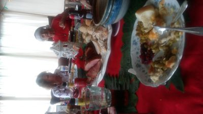 Spending the Holidays with family