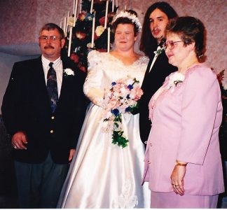 My son and daugher in law's wedding day